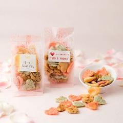 ハート煎餅・あられ(サラダ洋風小)